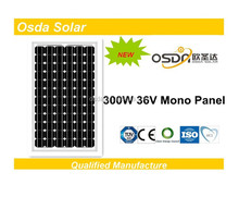 ODA300-36-M 300W Solar Panel with TUV,CE,CEC,MCS certificates