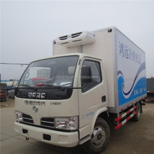 Excellent quality new arrival small reefer refrigerated van truck