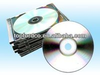 Audio CD replication with CD case