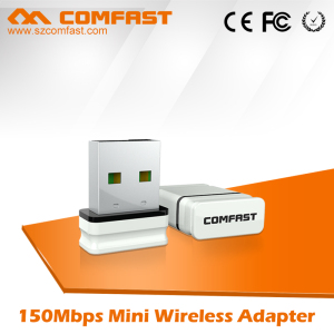 Hot selling 2018 COMFAST CF-WU810N 150Mbps high power wireless wifi serial network adapter for tv