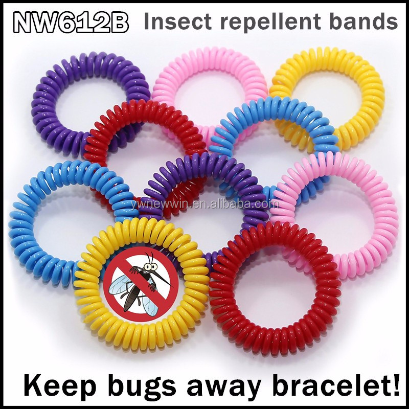 2016 Hot Sale Silicone Slap Wristband anti mosquitoes cheap bulk mosquito repellent coil bracelet