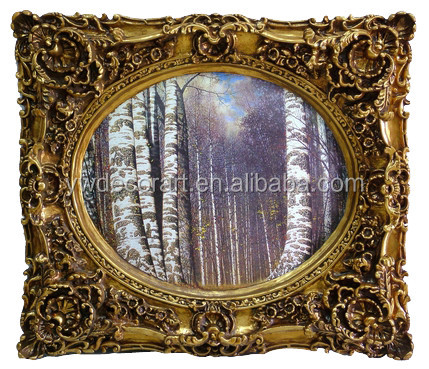 new design ovral islamic picture frame