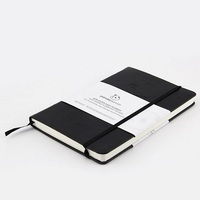 2016 custom China student stationery leather notebook