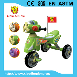 Fashion Children tricycle with music and light lovely small baby tricycle cheap kid's tricycle