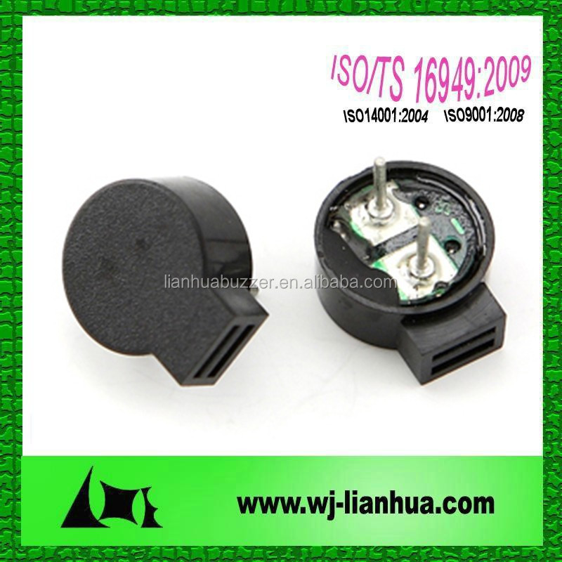 LET1260B 12*6mn 2731HZ 90db 1.5v small electro magnetic alarm security buzzer
