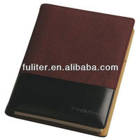 Office Supplies A5 Leather Printed Notebook