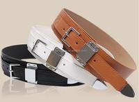 2 inch pu leather belt