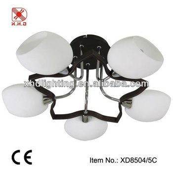 new design glass chandelier lighting XD8504-5