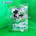 good green color gravure printing quality meat plastic bags clear