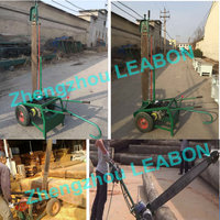 wood slasher portable electric chain sawmill /wood cutter