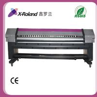 X-Roland 3.2 meter 1440dpi flex Eco solvent printer with Epson dx7 printhead