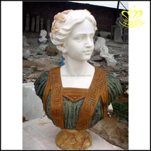 custom wholesale for sale marble stone antique lady bust statues