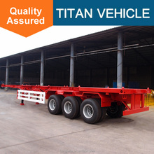 China flatbed trailer with container lock in trailer parts