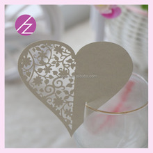 Compare Sponsored Listing Contact Supplier Chat Now!Personalized handmade heart place cards for wine glass with custom color