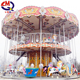 Fairground kids ride antique carousel horse merry go round for kids