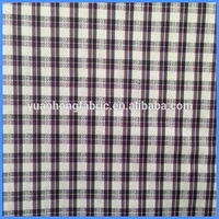Yarn Dyed Small Jacquard Woven Cloth Cotton Polyester Fabric