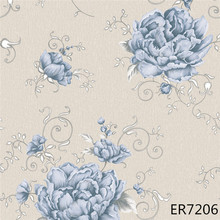 very cheap high quality flower wallcovering home decoration wallpaper