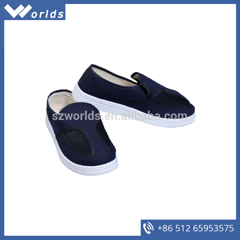 Factory Directly Supply Lightweigh W-A410 ESD Canvas Work Shoes