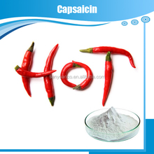High purity Chili pepper extract powder Capsaicin 98% CAS:404-86-4