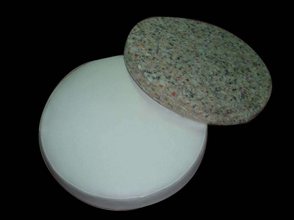 good quality Memory Seat Circular Cushion with recycled foam inside
