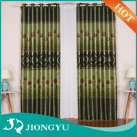 Latest designs Luxury Fashion block out curtains fabric