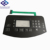 China Custom Embossed Keys Metal Dome Tactile LCD Membrane keypad Switch