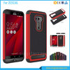 Football Grain Phone Case For Asus Zenfone 2 Laser ZE550KL, PC+Silicone Back Cover For Asus Zenfone 2 Laser Ze550kl