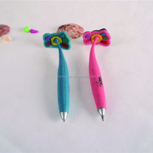 Feet shape fancy customized logo soft rubber pen