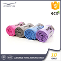 Fabrics grip hot private label best mat size cover custom wholesale anti slip microfiber yoga towel