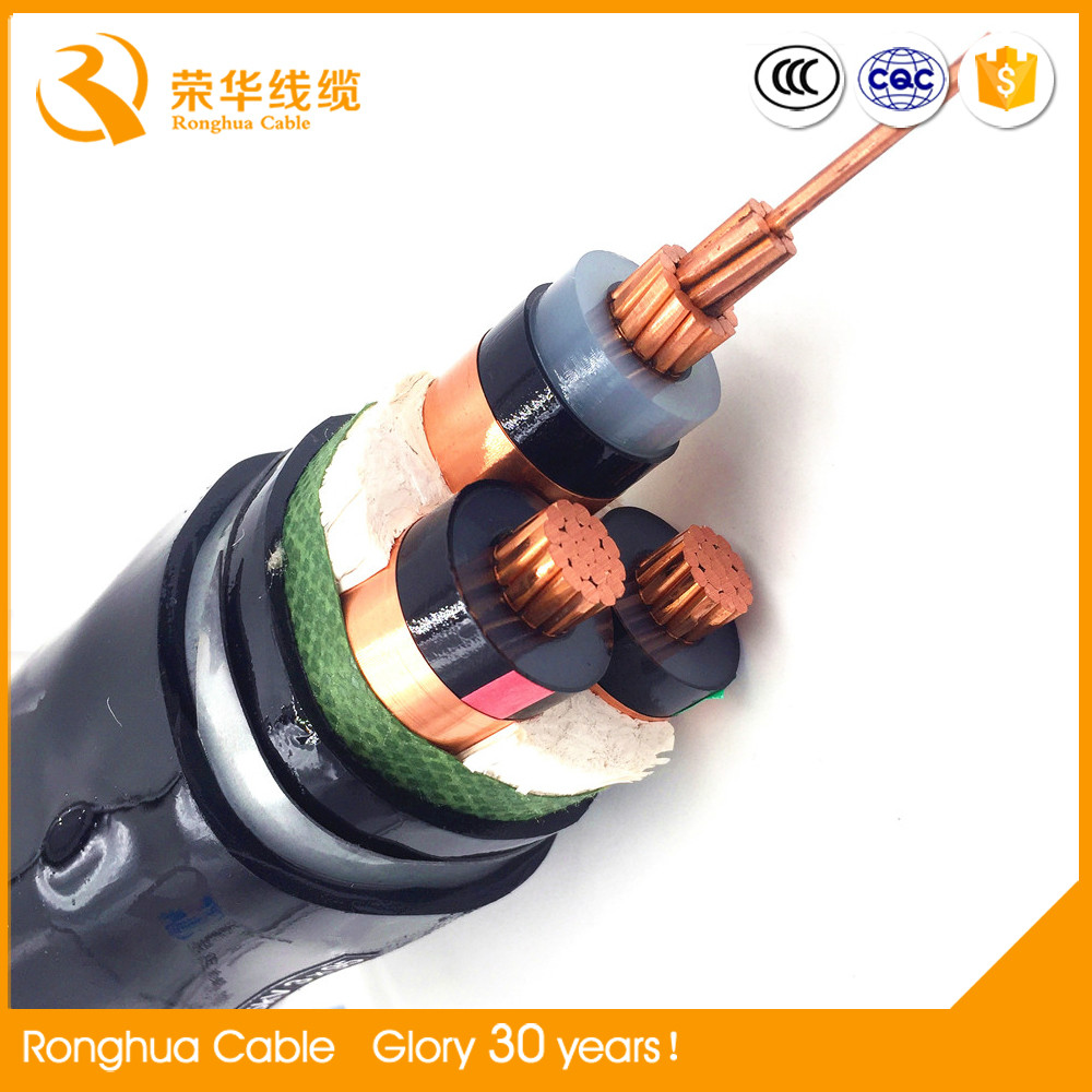 export to Iraq high temperature resistance low volts pvc power cable