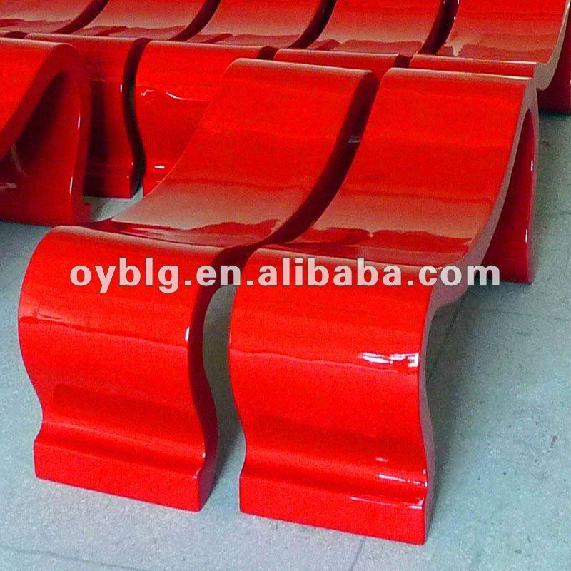 Outdoor muebles para decoraci n de fibra de vidrio frp - Muebles de fibra de vidrio ...