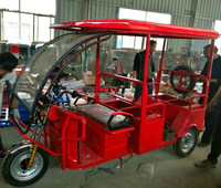Cheaper India Bajaj Auto Rickshaw with passenger seats FOR Sale