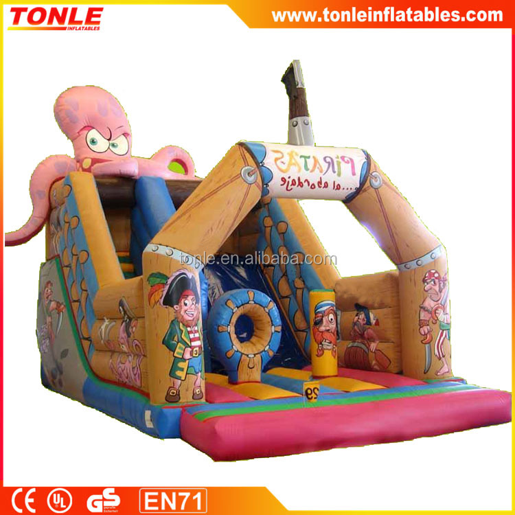 OCTOPUS inflatable slide for sale