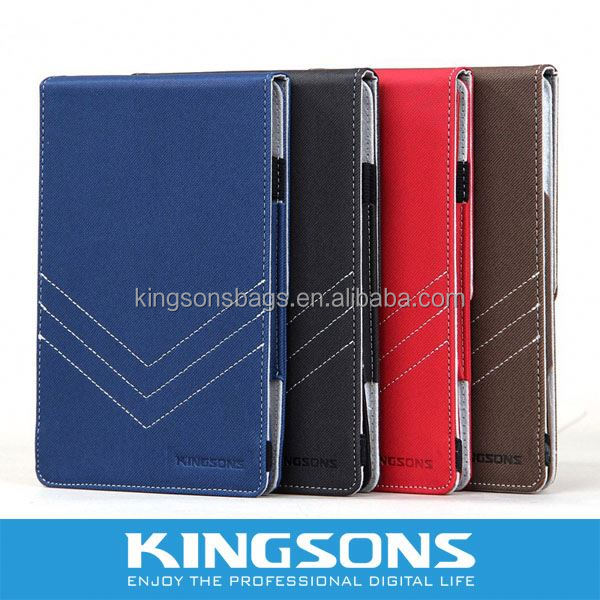 Hot selling leather case for ipad silicone case and cover for 7 inch tablet pc