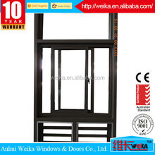 Reasonable price ISO9001,CE alloy aluminum sliding window and Aluminum Extrusion Profiles For Windows And Doors