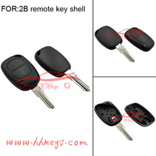 Renault Two Button Remote car key Transponder universal remote control car key With blade and Led light without Chip