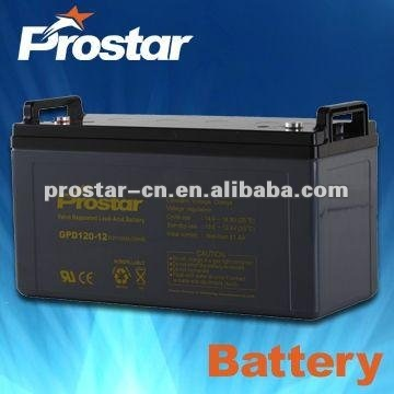 high quality 12v24ah agm deep cycle battery for electrical shopping cart