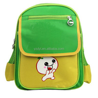 Custom 600D polyester name brand school bag for children