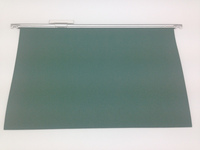 classic clench suspension file folder , green , FC size, KRAFT PAPER