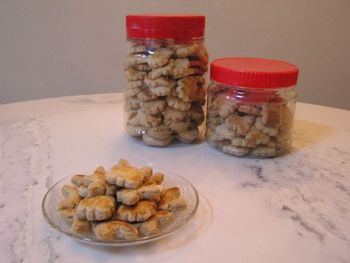Home-made Peanut Cookies