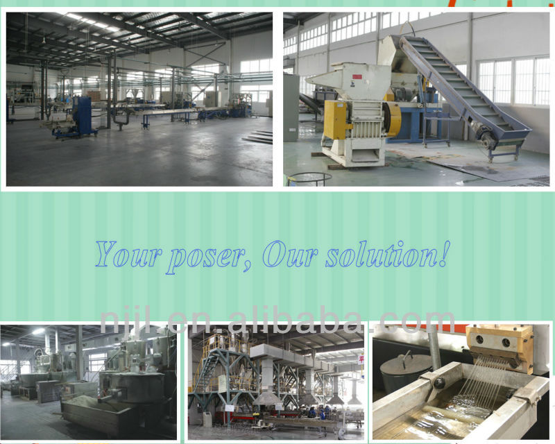 SHJ-65 twin screw extruder for ABS PS PP modification/engineering polymer/plastic