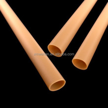 Wood color small diameter pvc pipe