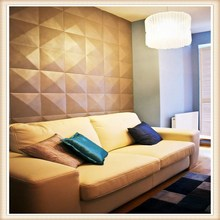 Hot Sale Building Material PVC 3D Wall Panels / 3D Wall Tiles For 3D Wall Decor