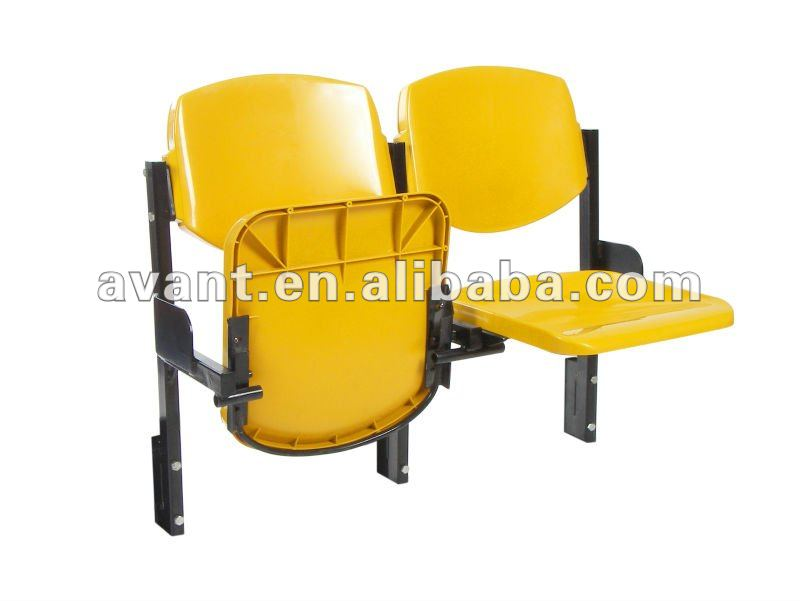 Shine-I wholesale football equipment audience chair folding chair sports games seating plastic seating