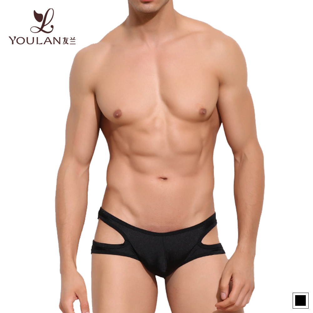 Top Fitness Viscose Spandex Mens Sexy Briefs