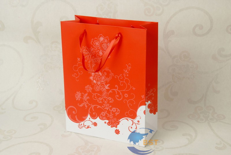 Designer classical food paper bag packaging
