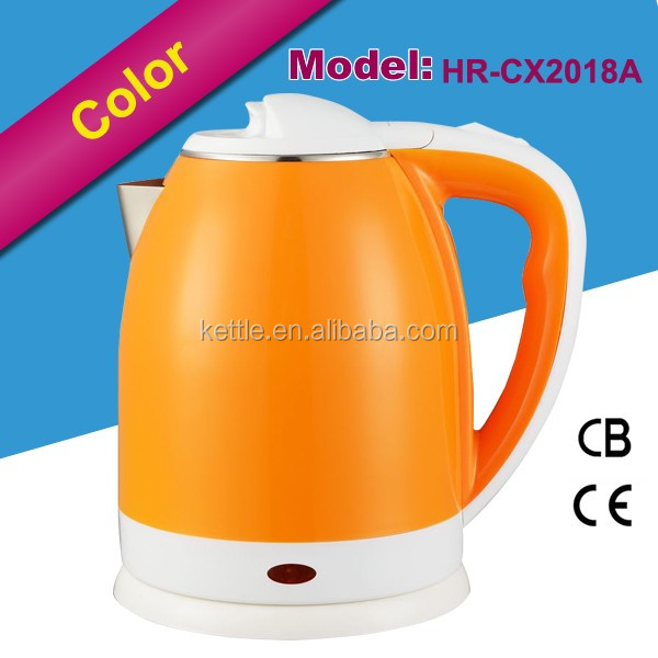 High Quality Pink plastic electric water kettle in lowest price for kitchen appliance