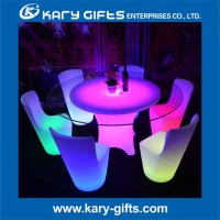 Lighting event led nightclub inflatable table