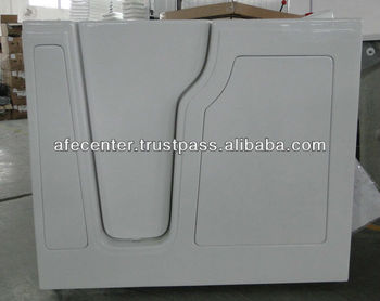 oasis walk in bathtub curved door walk in bathtub with door best walk in bathtub manufacturer in China 2