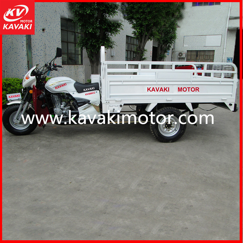 China Top Brand 3 Wheel Adult Delivery Scooter Motorcycle Popular In South America
